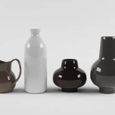 现代简约, 陶瓷, 摆件