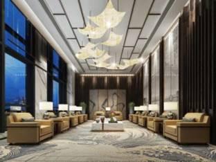 新中式贵宾接待室会客室3D模型