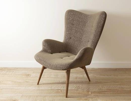 休闲椅, 单椅, 北欧
