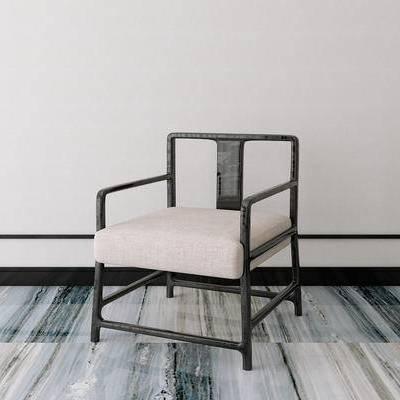 单椅, 新中式