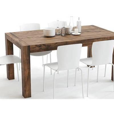 现代, 餐桌, 摆件, 茶具
