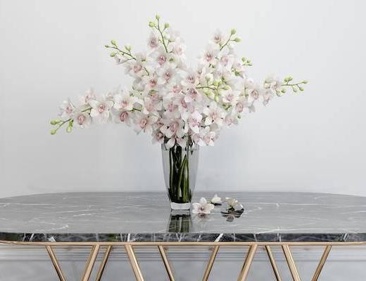 花瓶花卉, 简欧