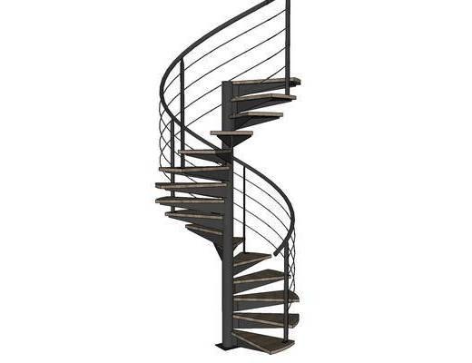 旋转楼梯, 工业风, 楼梯, 装饰
