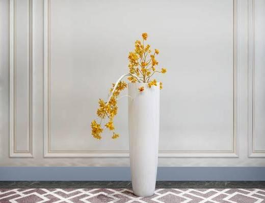花瓶, 花卉, 简欧