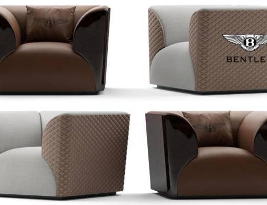 现代简约, 沙发, 单人沙发