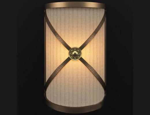 中式, 台灯, 灯具, 中式台灯