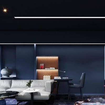 现代千亿国际app|娱乐网站, 沙发茶几组合, 桌椅组合, 休闲区, 沙发区, 1000套空间酷赠送模型
