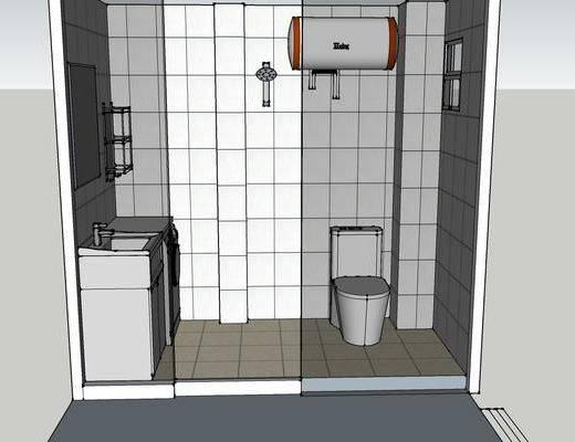 现代卫生间, 卫生间