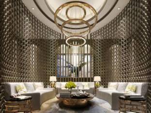 现代会所会客厅洽谈区休闲区3D模型