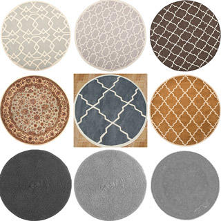 地毯, 圆毯, 圆地毯, 布艺, 贴图