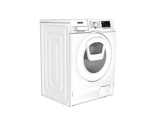 洗衣机, 现代, 滚筒式洗衣机, 装饰, 摆件