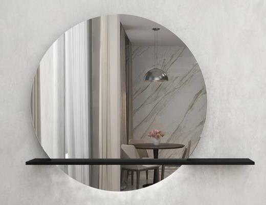 现代, 镜子, 装饰镜, 意大利Gardadecor