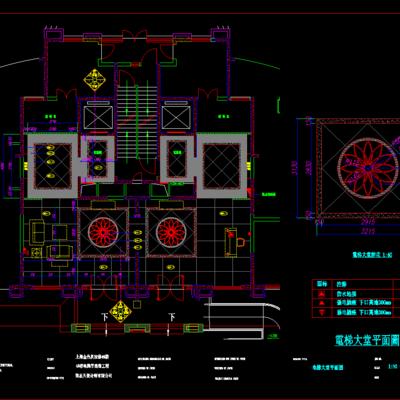 CAD施工图, 工装, 大师, 平面图