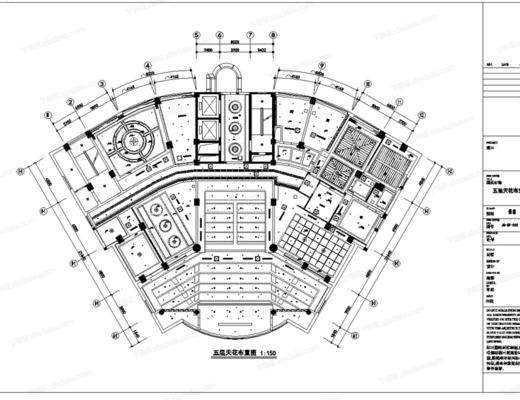 CAD, 施工图, 工装, 酒店, 平面图, 立面图, 节点, 大样, 电路图, 天花图