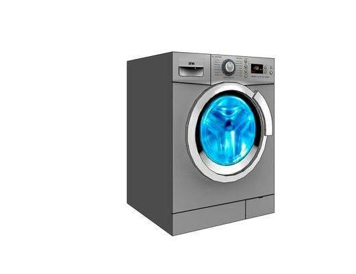 洗衣机, 装饰, 现代, 滚筒洗衣机