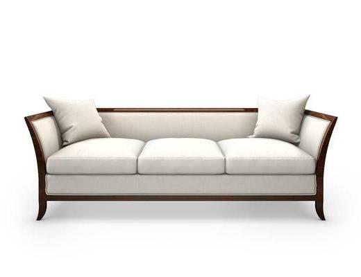 中式多人沙发, 沙发, 单椅
