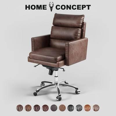 古典办公沙发椅, 古典沙发椅, 沙发椅