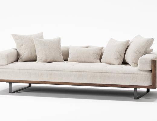 现代多人沙发, 沙发, 单椅