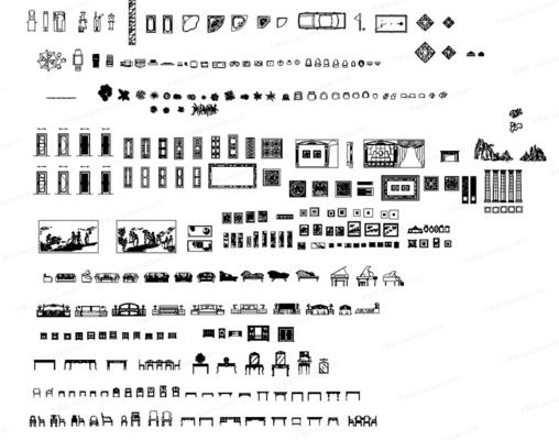 CAD, 模块, 高文安, 专用图库, 下得乐3888套模型合辑