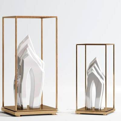现代, 摆件, 雕塑, 陈设品