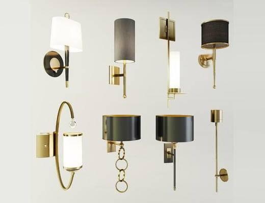 现代简约, 壁灯, 灯具, 现代壁灯