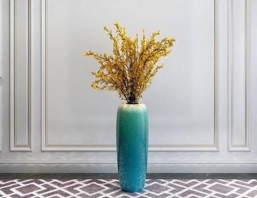 陶瓷器皿, 花瓶, 简欧