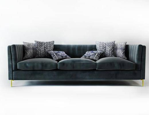 美式多人沙发, 沙发组合, 沙发