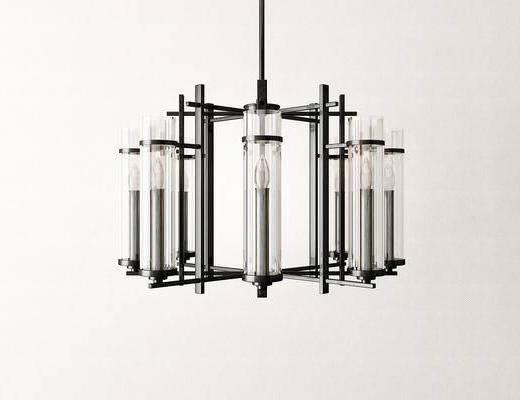 吊灯, 新中式