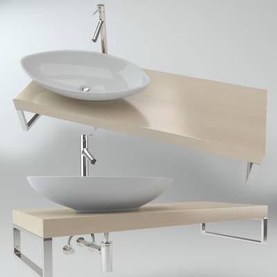 洗手盆, 现代, 卫浴