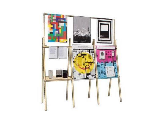 现代, 画板, 装饰, 摆件