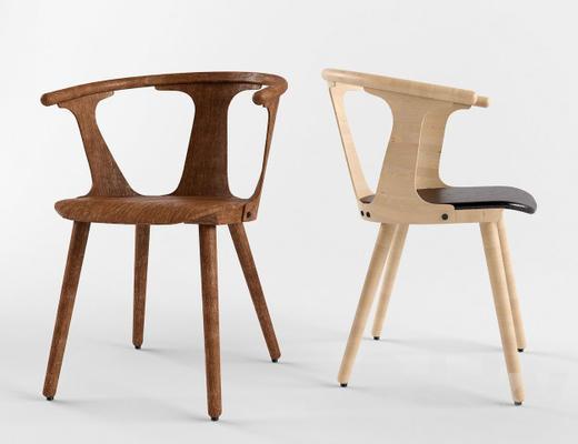 现代简约, 实木, 椅子, 现代椅子