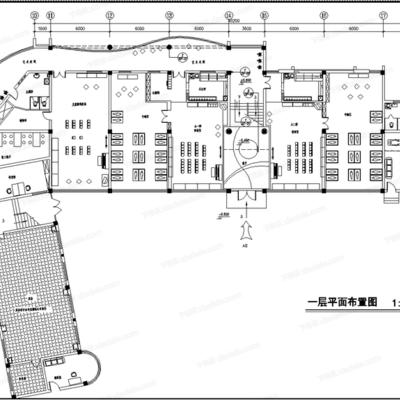 CAD, 施工图, 工装, 幼儿园, 平面图, 立面图, 大样图, 节点, 天花图