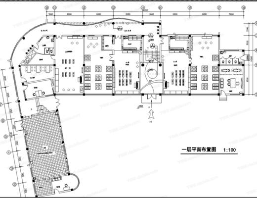 CAD, 施工圖, 工裝, 幼兒園, 平面圖, 立面圖, 大樣圖, 節點, 天花圖