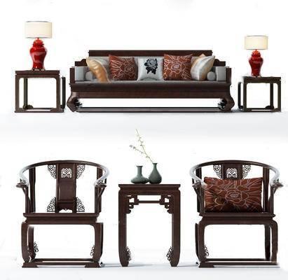 沙发组合, 茶几, 边几
