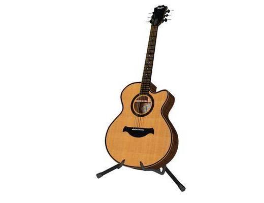现代, 吉他, 装饰, 摆件