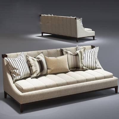 欧式, 多人沙发, 沙发, 抱枕