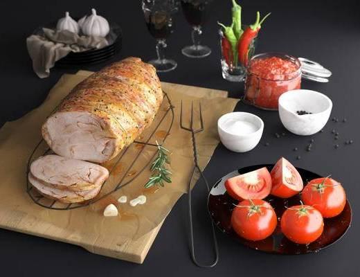 北欧简约, 食物组合, 日用品组合