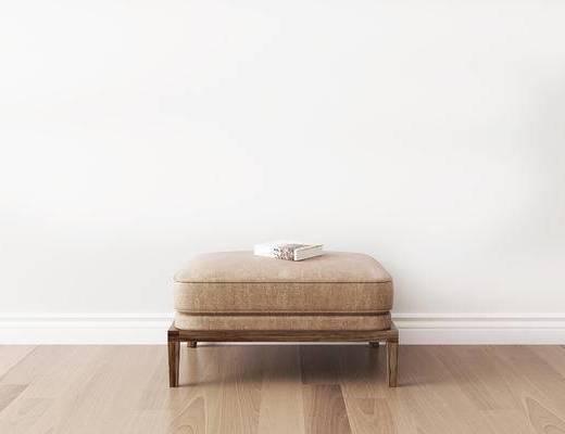 凳子, 沙发凳, 新中式