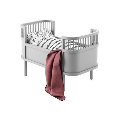 现代, 婴儿床, 床, 美式