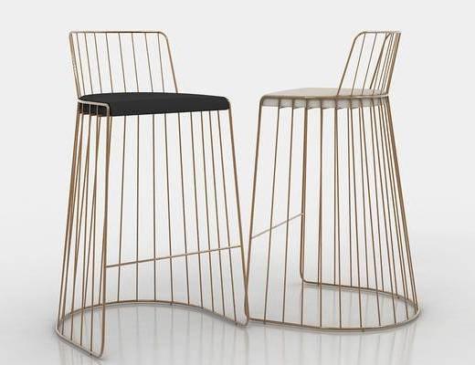 美式, 椅子, 金属椅
