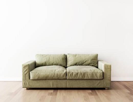 双人沙发, 北欧