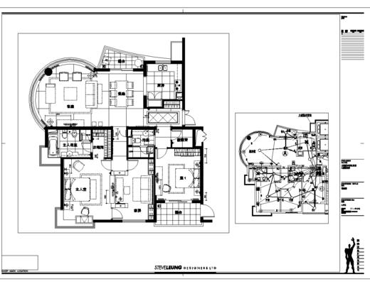 CAD, 施工图, 室内, 家装, 平面图, 立面图, 大师, 下得乐3888套模型合辑