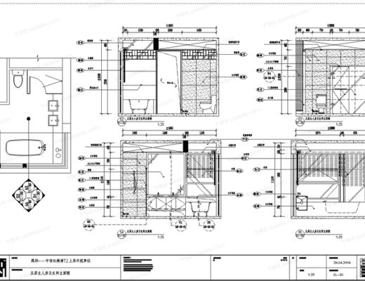 CAD, 施工图, 家装, 样板房, 立面