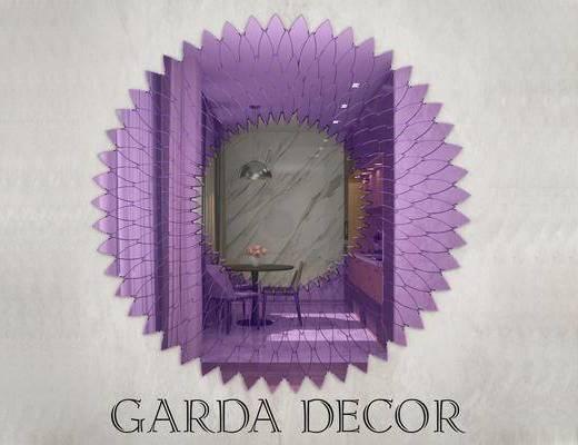 意大利GardaDecor, 现代, 装饰镜, 镜子
