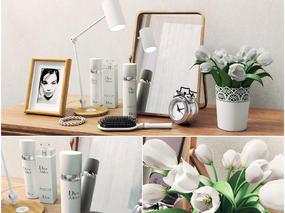 现代简约, 日用品, 陈设品组合, 植物