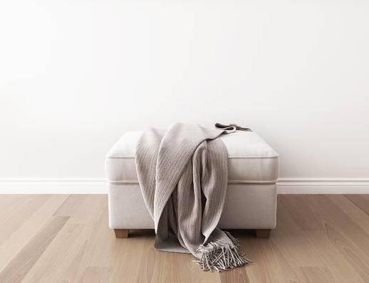 凳子, 沙发凳, 美式