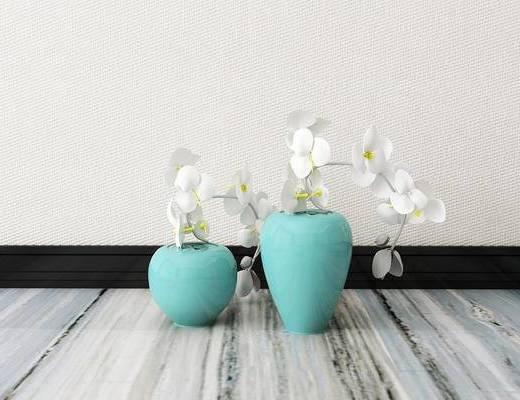 花瓶, 花卉, 新中式