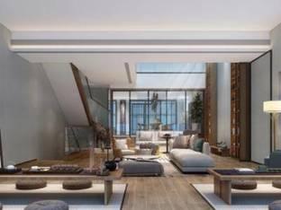 新中式会所新中式茶室3D模型