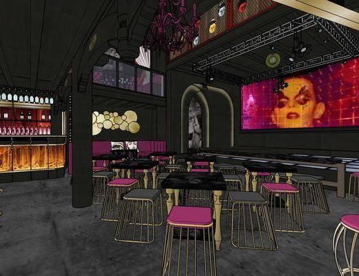 现代酒吧, 酒吧