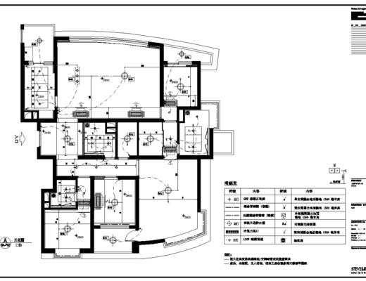 CAD施工图, 家装, 室内, 平面图, 立面图, 大师, 下得乐3888套模型合辑
